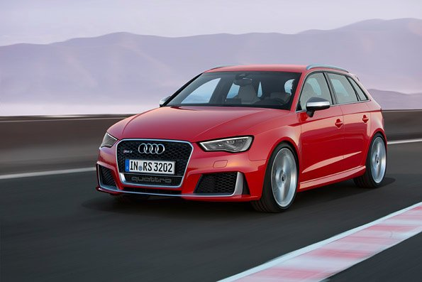 Power in compact form – New RS 3 Sportback